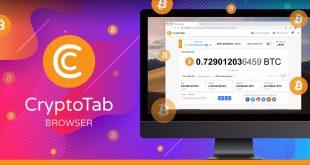 Aplikasi Cryptotab Untuk Mining Bitcoin di Smartphone