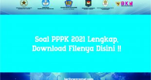 dOWNLOAD sOAL P3K GURU 2021 PDF LENGKAP DAN TERBARU