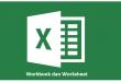 Workbook dan Worksheet Microsoft Excel