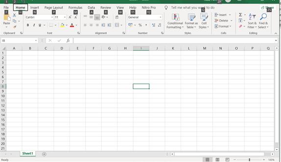 Ribbon Microsoft Excel 2