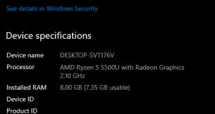 Cara melihat bit laptop windows 10