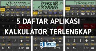 5 Daftar Aplikasi Kalkulator Terlengkap