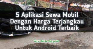 Poster Aplikasi Sewa Mobil