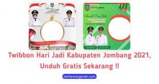Poster Twibbon Hari Jadi Kabupaten Jombang