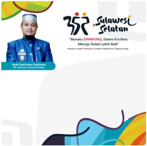 Twibbon Hari Jadi Sulsel 2021 Link 2