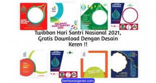 Twibbon Hari Santri Nasional Poster
